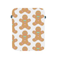 Pattern Christmas Biscuits Pastries Apple Ipad 2/3/4 Protective Soft Cases by Onesevenart