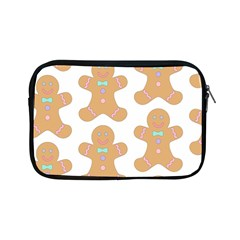 Pattern Christmas Biscuits Pastries Apple Ipad Mini Zipper Cases by Onesevenart