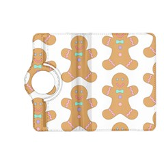 Pattern Christmas Biscuits Pastries Kindle Fire Hd (2013) Flip 360 Case by Onesevenart