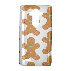 Pattern Christmas Biscuits Pastries Lg G4 Hardshell Case by Onesevenart