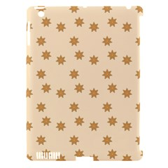 Pattern Gingerbread Star Apple Ipad 3/4 Hardshell Case (compatible With Smart Cover) by Onesevenart