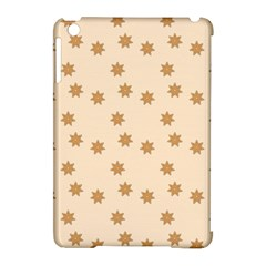Pattern Gingerbread Star Apple Ipad Mini Hardshell Case (compatible With Smart Cover) by Onesevenart