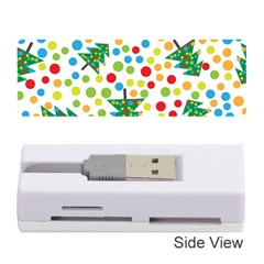 Pattern Circle Multi Color Memory Card Reader (stick)  by Onesevenart