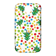 Pattern Circle Multi Color Samsung Galaxy S4 Classic Hardshell Case (pc+silicone) by Onesevenart