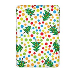 Pattern Circle Multi Color Samsung Galaxy Tab 2 (10 1 ) P5100 Hardshell Case  by Onesevenart