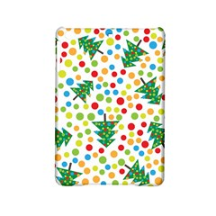 Pattern Circle Multi Color Ipad Mini 2 Hardshell Cases by Onesevenart