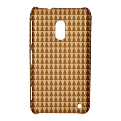 Pattern Gingerbread Brown Nokia Lumia 620 by Onesevenart