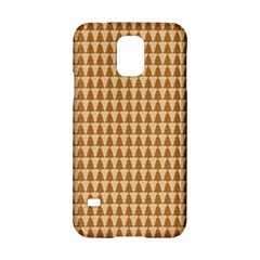 Pattern Gingerbread Brown Samsung Galaxy S5 Hardshell Case  by Onesevenart