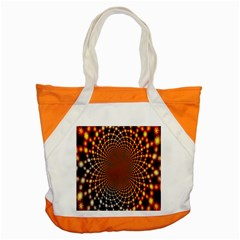 Pattern Texture Star Rings Accent Tote Bag by Onesevenart