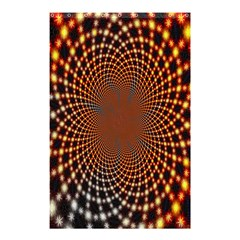 Pattern Texture Star Rings Shower Curtain 48  X 72  (small)  by Onesevenart