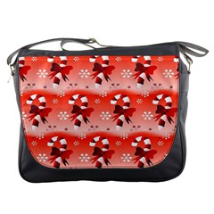 Seamless Repeat Repeating Pattern Messenger Bags by Onesevenart