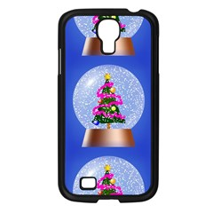 Seamless Repeat Repeating Pattern Art Samsung Galaxy S4 I9500/ I9505 Case (black) by Onesevenart