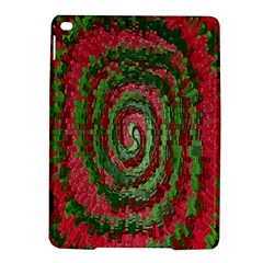 Red Green Swirl Twirl Colorful Ipad Air 2 Hardshell Cases by Onesevenart