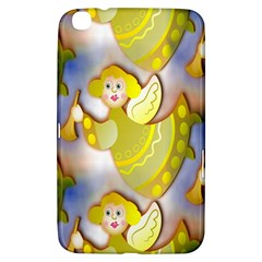 Seamless Repeat Repeating Pattern Samsung Galaxy Tab 3 (8 ) T3100 Hardshell Case  by Onesevenart