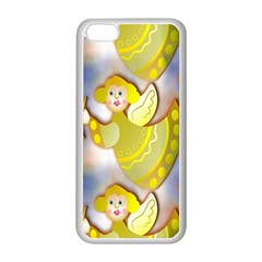 Seamless Repeat Repeating Pattern Apple Iphone 5c Seamless Case (white) by Onesevenart