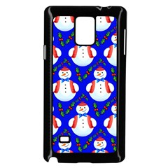Seamless Repeat Repeating Pattern Samsung Galaxy Note 4 Case (black) by Onesevenart