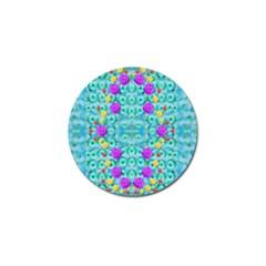 Season For Roses And Polka Dots Golf Ball Marker (4 Pack)