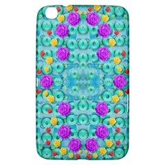 Season For Roses And Polka Dots Samsung Galaxy Tab 3 (8 ) T3100 Hardshell Case  by pepitasart
