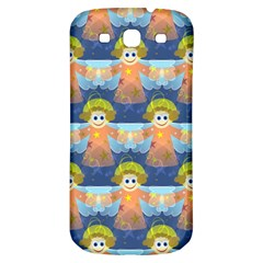 Seamless Repeat Repeating Pattern Samsung Galaxy S3 S Iii Classic Hardshell Back Case by Onesevenart