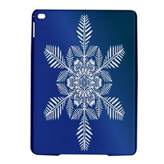 Snow Flake Crystal Snow Winter Ice Ipad Air 2 Hardshell Cases by Onesevenart