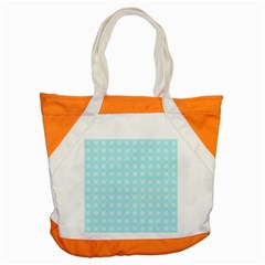 Snowflakes Paper Christmas Paper Accent Tote Bag by Onesevenart