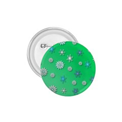 Snowflakes Winter Christmas Overlay 1 75  Buttons by Onesevenart