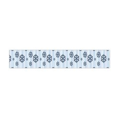 Snowflakes Winter Christmas Card Flano Scarf (mini) by Onesevenart