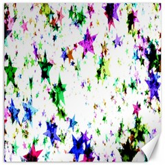 Star Abstract Advent Christmas Canvas 16  X 16   by Onesevenart