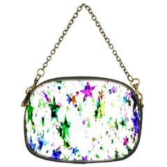 Star Abstract Advent Christmas Chain Purses (one Side)  by Onesevenart
