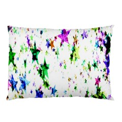 Star Abstract Advent Christmas Pillow Case (two Sides) by Onesevenart