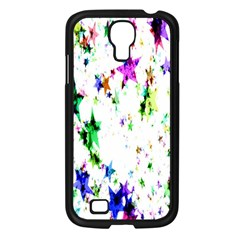 Star Abstract Advent Christmas Samsung Galaxy S4 I9500/ I9505 Case (black) by Onesevenart