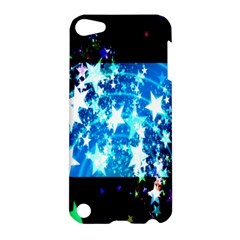Star Abstract Background Pattern Apple Ipod Touch 5 Hardshell Case by Onesevenart
