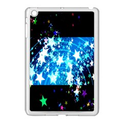 Star Abstract Background Pattern Apple Ipad Mini Case (white) by Onesevenart