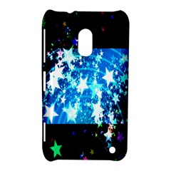 Star Abstract Background Pattern Nokia Lumia 620 by Onesevenart