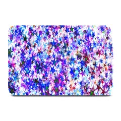 Star Abstract Advent Christmas Plate Mats by Onesevenart