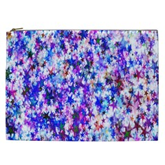 Star Abstract Advent Christmas Cosmetic Bag (xxl)  by Onesevenart