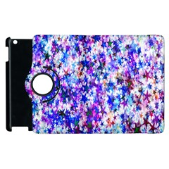Star Abstract Advent Christmas Apple Ipad 3/4 Flip 360 Case by Onesevenart