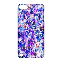 Star Abstract Advent Christmas Apple Ipod Touch 5 Hardshell Case With Stand by Onesevenart