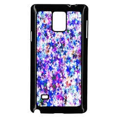 Star Abstract Advent Christmas Samsung Galaxy Note 4 Case (black) by Onesevenart