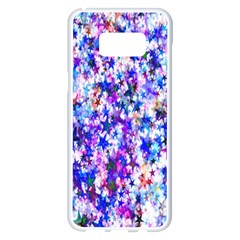 Star Abstract Advent Christmas Samsung Galaxy S8 Plus White Seamless Case by Onesevenart