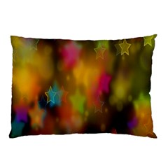 Star Background Texture Pattern Pillow Case (two Sides) by Onesevenart