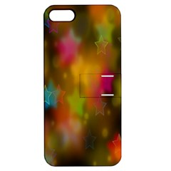 Star Background Texture Pattern Apple Iphone 5 Hardshell Case With Stand by Onesevenart