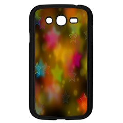 Star Background Texture Pattern Samsung Galaxy Grand Duos I9082 Case (black) by Onesevenart
