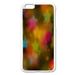 Star Background Texture Pattern Apple Iphone 6 Plus/6s Plus Enamel White Case by Onesevenart