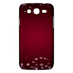 Star Background Christmas Red Samsung Galaxy Mega 5 8 I9152 Hardshell Case  by Onesevenart