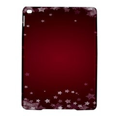 Star Background Christmas Red Ipad Air 2 Hardshell Cases by Onesevenart