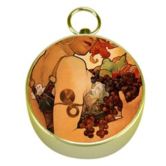 Alfons Mucha   Fruit Gold Compasses by 8fugoso