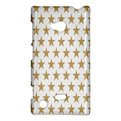 Star Background Gold White Nokia Lumia 720 by Onesevenart