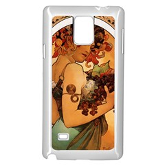 Alfons Mucha   Fruit Samsung Galaxy Note 4 Case (white)