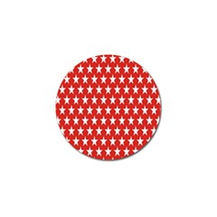 Star Christmas Advent Structure Golf Ball Marker (4 Pack) by Onesevenart